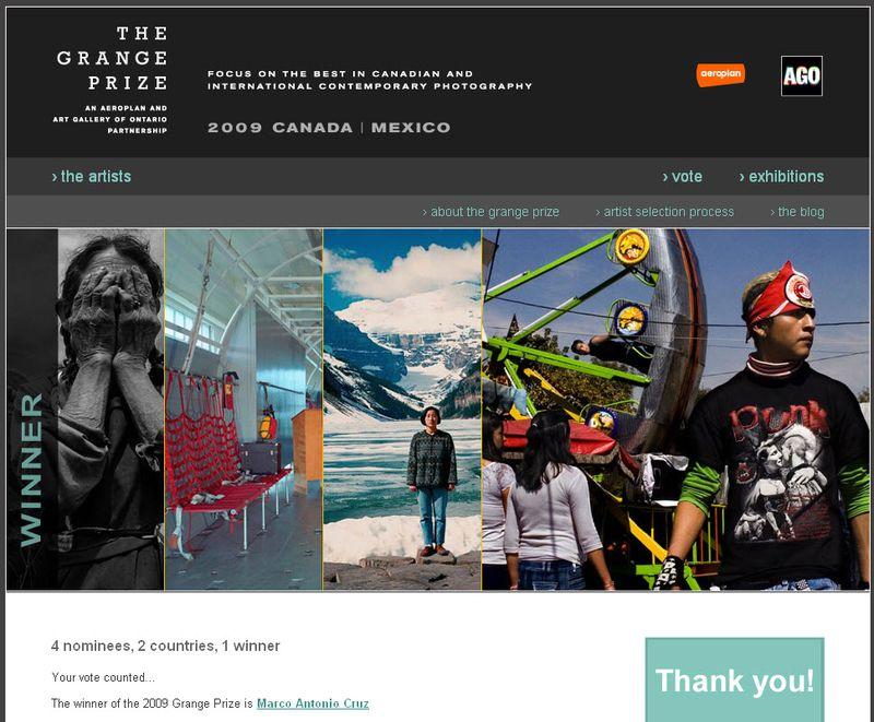 Grange Prize, Canada, Mexico