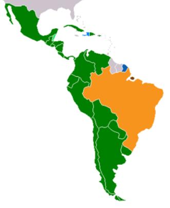 Latin American Map